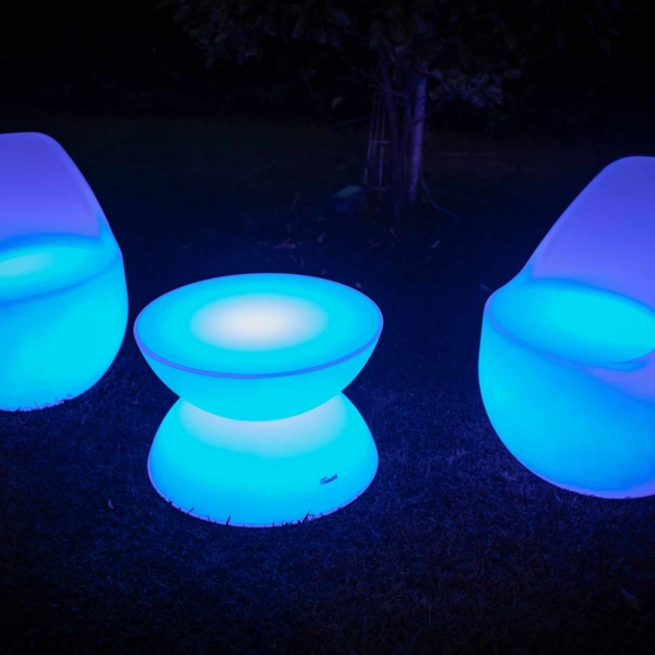 set Poltrona Luminosa Led