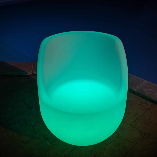 Poltrona Luminosa Led verde